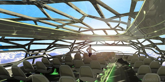 Interieur Avion Futur